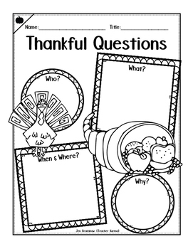Thanksgiving Printables Kit