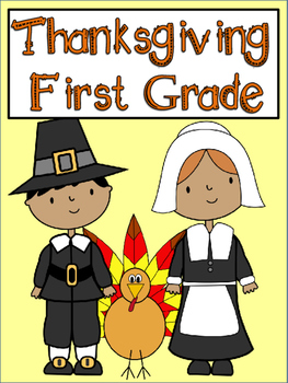 Thanksgiving Printables for First Grade