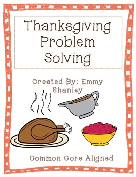 Thanksgiving Problem Solving