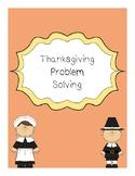 Fourth Grade Thanksgiving Problem Solving