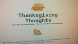 Thanksgiving Problem Solving to the Core