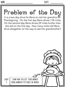 Thanksgiving Problem of the Day