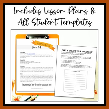 Thanksgiving Project-Based Learning for 4th Grade