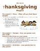 Thanksgiving Project, MS Word