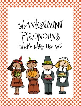 Thanksgiving Pronouns Part 2