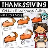 Thanksgiving Pumpkin Pie Smash Mats/Craftivity