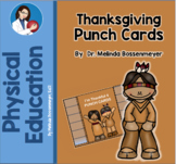 Thanksgiving Punch Cards