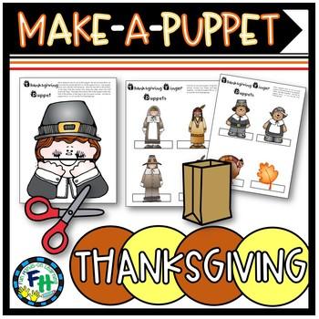 Thanksgiving Puppets Craft