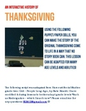 Thanksgiving Puppets: The Story of Thanksgiving