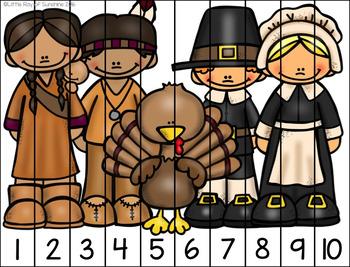 Thanksgiving Puzzle Freebie