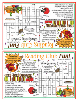 Thanksgiving Puzzle Packet