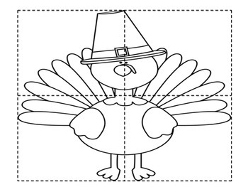 Thanksgiving Puzzle Pages