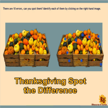 Thanksgiving Interactive Puzzles Bundle for Grade 3-5