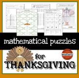 Thanksgiving Activities - math