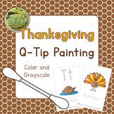 Thanksgiving Q-tip Painting