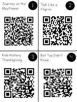 Thanksgiving QR Code Exploration