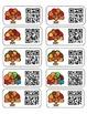 Thanksgiving QR Code Labels - Good Job Stickers