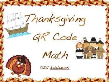 Thanksgiving QR Code Math