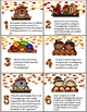 Thanksgiving QR Code Writing Prompts for Upper Grades