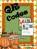 Thanksgiving QR Codes Vol 1
