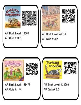 Thanksgiving QR Codes Vol 3