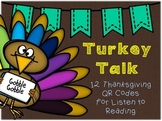 Thanksgiving QR Codes for Listen to Reading
