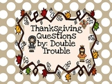 Thanksgiving Question Cards- Instacards