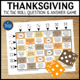 Thanksgiving Questions Game