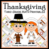 Thanksgiving No Prep Common Core Math (3rd grade)