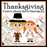 Thanksgiving No Prep Common Core Math (4th grade)