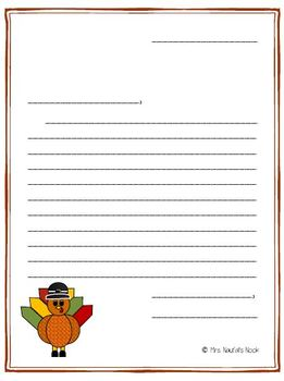 Thanksgiving Writing - Acrostic Poem, Text Message, Friendly Letter and More