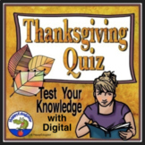 Thanksgiving Quiz - Test Your Thanksgiving Knowledge