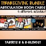 Thanksgiving R and R-blends Articulation Digital No Print Games bundle