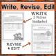 Thanksgiving RAFT Creative Writing Activity