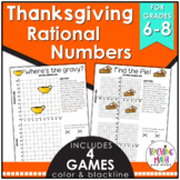 Thanksgiving Rational Numbers Game