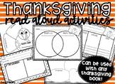 Thanksgiving Read Aloud Activities