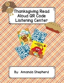 Thanksgiving Read Aloud Books QR Code Listening Center