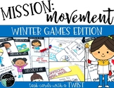Winter Games Centers or Hallway Hunt {Mission Movement: Winter Games}