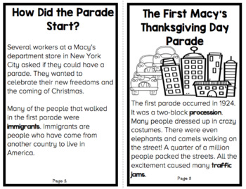 Thanksgiving Reader: The History of the Thanksgiving Day Parade