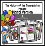 Thanksgiving Reader: The History of the Thanksgiving Parade DIGITAL VERSION