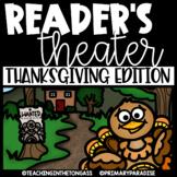 Thanksgiving Reader's Theater Scripts EDITABLE
