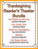 Thanksgiving Reader's Theater Bundle - 5 Scripts