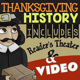 Thanksgiving Reader's Theater & More ★ Thanksgiving History Activity, Fun Script