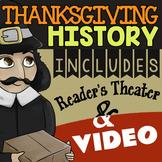 Thanksgiving Reader's Theater ★ Pilgrims & Wampanoags Reader's Theater