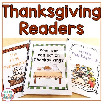 Thanksgiving Readers Bundle