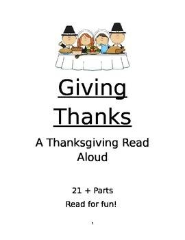 Thanksgiving Reader's Theater