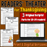 Thanksgiving Readers' Theater  | PDF and Digital |
