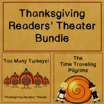 Thanksgiving Readers' Theater Bundle