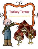 Thanksgiving Reading Activity Fairy Tale Mystery Case File 12: Turkey Terror