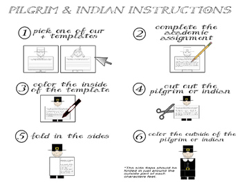 Thanksgiving Reading Comprehension - Informational Text * Questions * Craft  6-8